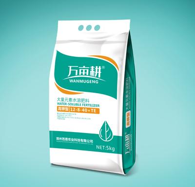 萬畝耕高鉀大量元素水溶肥(12-8-40+TE)