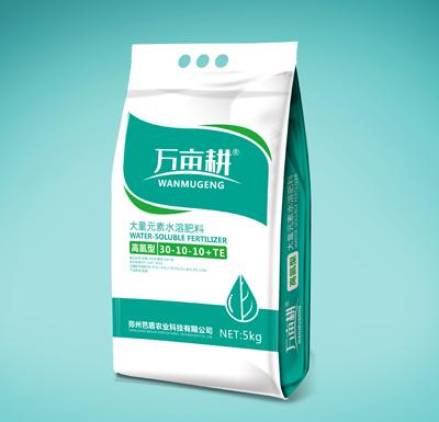 萬畝耕高氮大量元素水溶肥(30-10-10+TE)